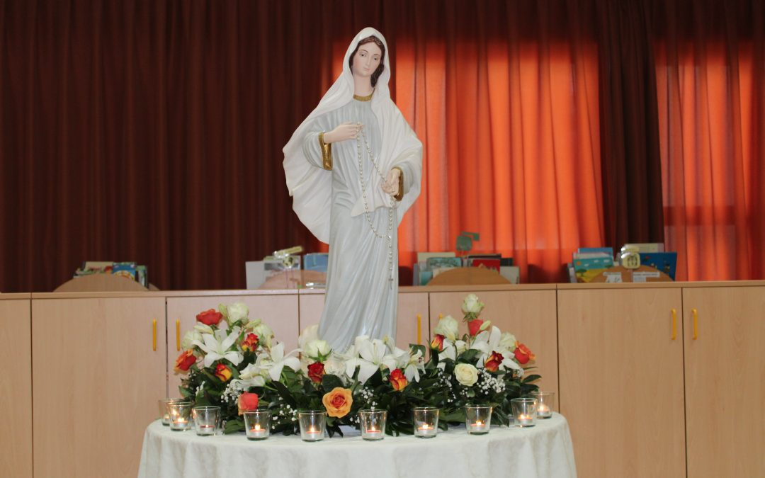 Sprejem Marijinega kipa