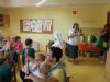 Misijonarka  v Braziliji na obisku v vrtcu